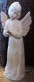 praying angel, wooden blank